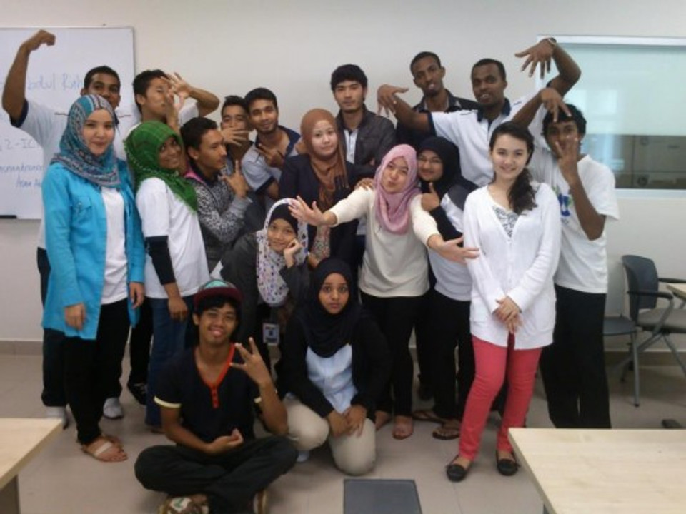 My Students of ACADEMIC WRITING - G5 - 2012 FSP