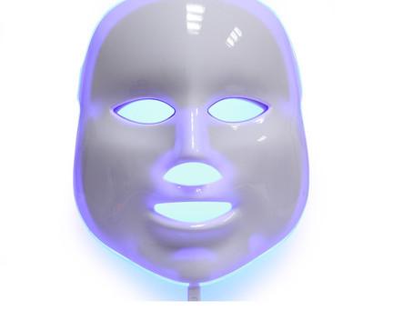 Helles erfaringer med LED masken. Dag 3