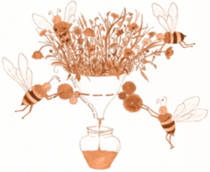 Bienenquetsche Etikettenbild bearbeitet.
