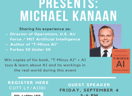 Code A Wish invites Mr. Michael Kanaan, Author of best new release
