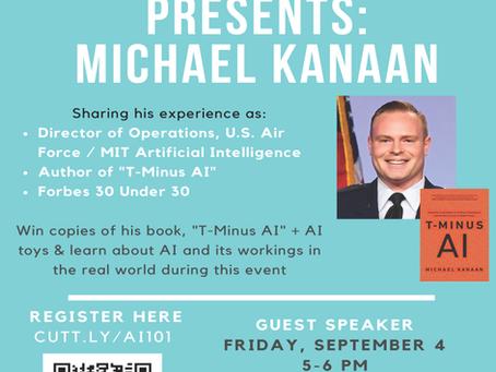 Code A Wish invites Mr. Michael Kanaan, Author of best new release