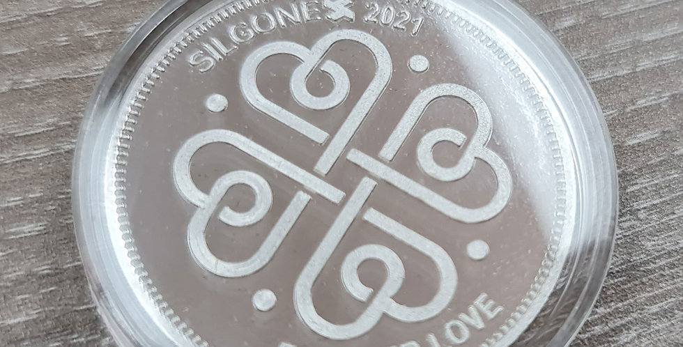 SILGONEX LOVE COIN