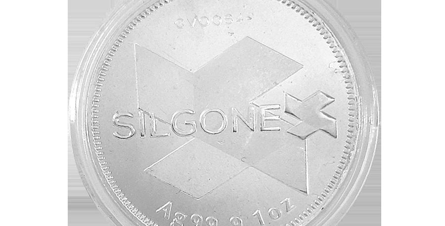 SILGONEX SILVER COIN