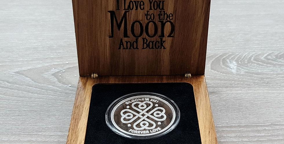 SILGONEX LOVE COIN BOX SET