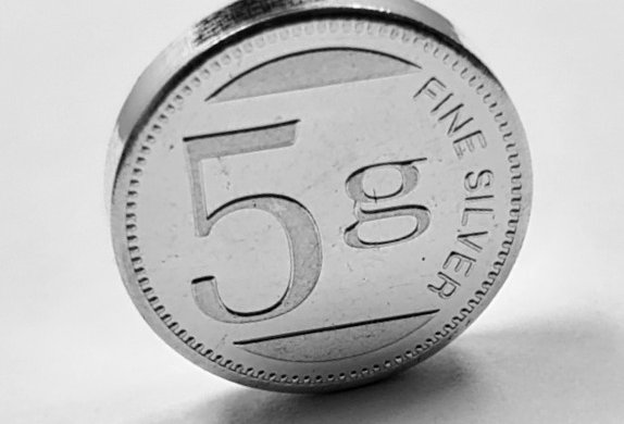 Silgonex 5g Silver Coin