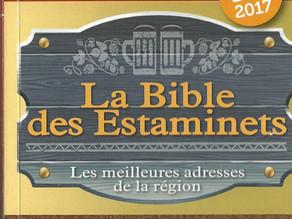 L'histoire mouvementée de la Bible des estaminets