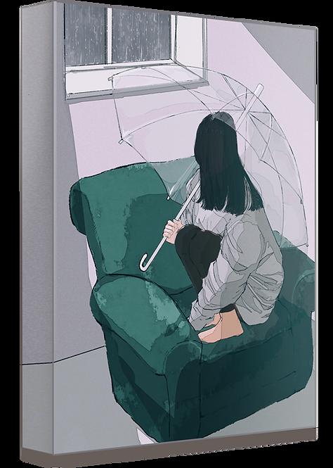 複製原画 キャンバス【引きこもりっ子】