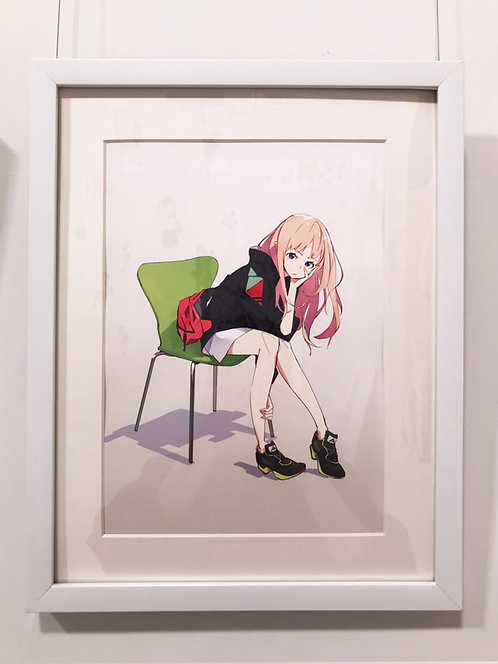 『椅子』複製原画(A4)