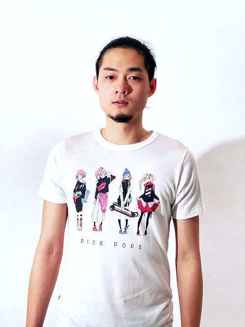 Charm original Tshirt『PICK POPS』