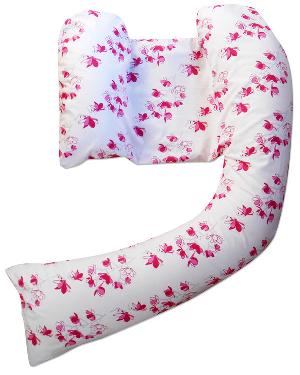 pink blossom pillow
