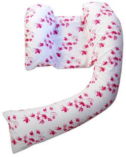 pink blossom pillow