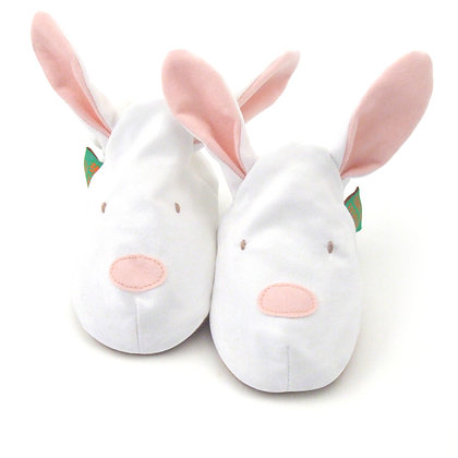 Funky Feet shoes - Pink Bunny