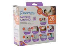 F70244 BATHROOM SAFETY KIT - 28 PIECES VALUE PACK UK
