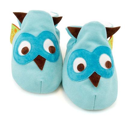 Funky Feet shoes - Owl Blue