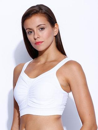 Pregnancy Bra (White / Black / Tan)