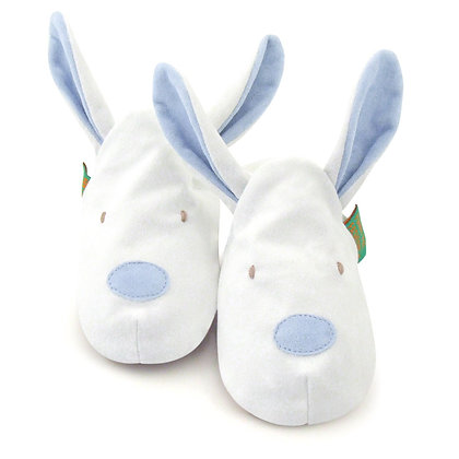 Funky Feet shoes - Blue Bunny
