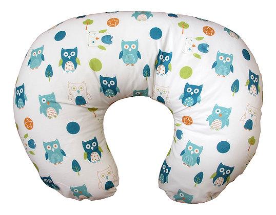 dreamgenii Pregnancy Donut Pillow (Multi Owls)