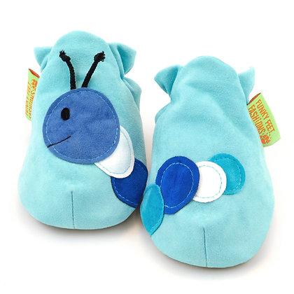 Funky Feet shoes - Blue Funkapillar
