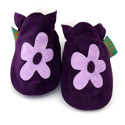 Funky Feet shoes - Funky Purple Flower