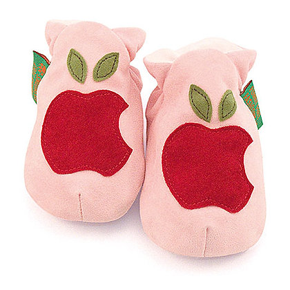 Funky Feet shoes - Apple Blush