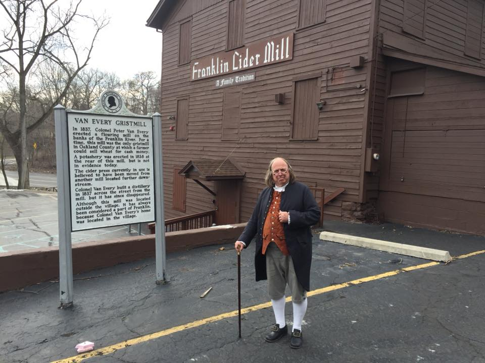 Ben Franklin Visits MI