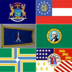 State, County, or Local Flag
