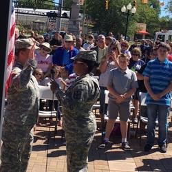 Re-enlistment Ceremony