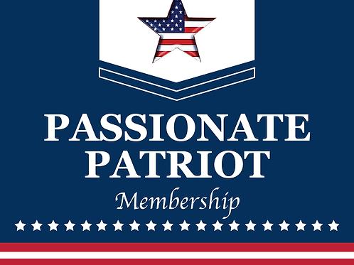 Passionate Patriot Membership