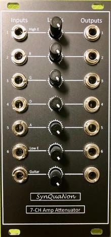 7-Channel Amplifier-Attenuator Module Fr