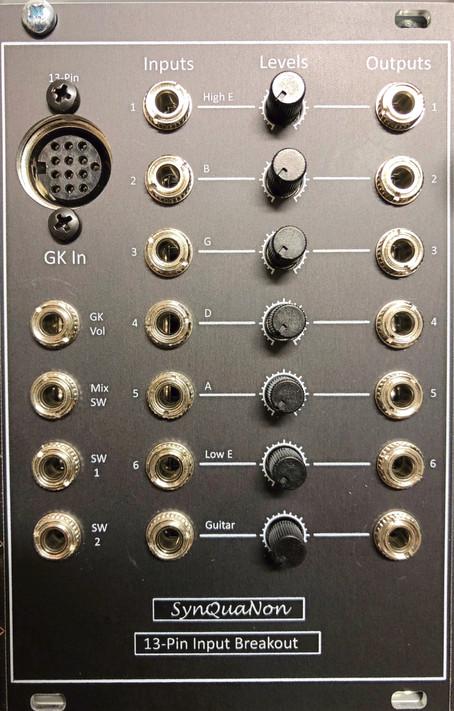 Module post series: 13-Pin Input Breakout
