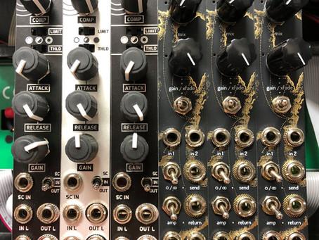 Compression and Pedal I/O!