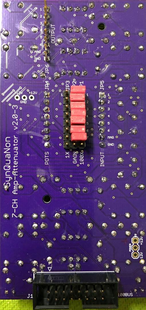 7-Channel Amplifier-Attenuator 100x Bott