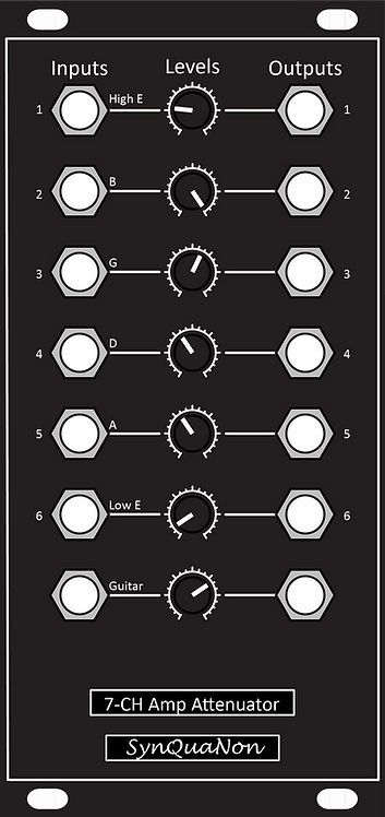 7-Channel Amplifier-Attenuator