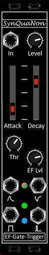 Eurorack 5HP Hex EF-Gate-Trigger v3.0 Pa