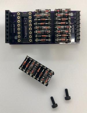 Hex Fuzz Amplifier Diode Module Closeup.
