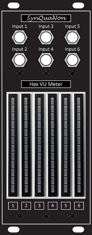 Hex VU Meter