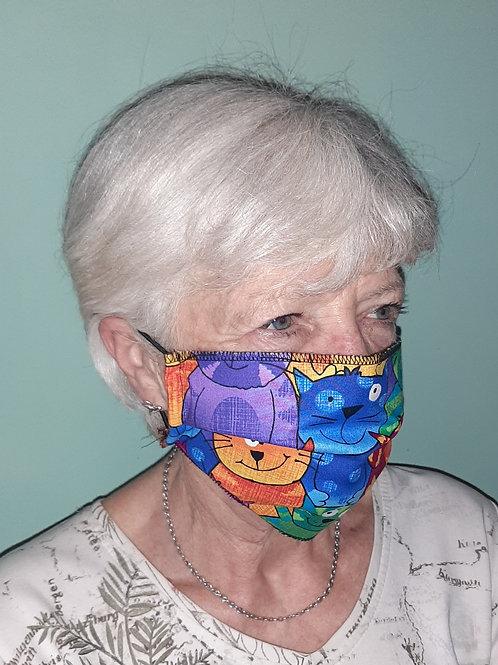 Stylish Masks : Single Layer..............(Set of 6)