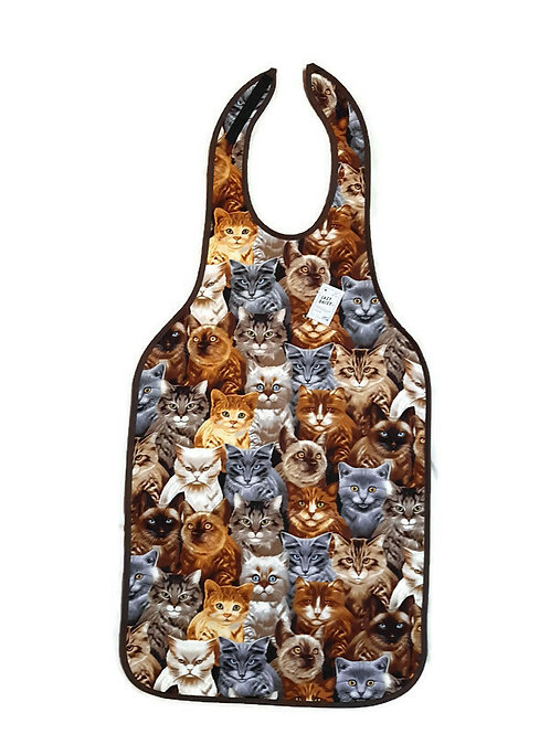 Adult Bib -Large with Heavy Backing