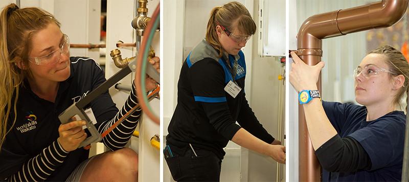female plumbers