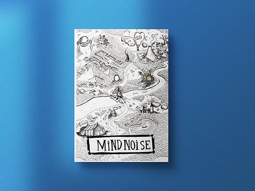 A5 Mind Noise Print