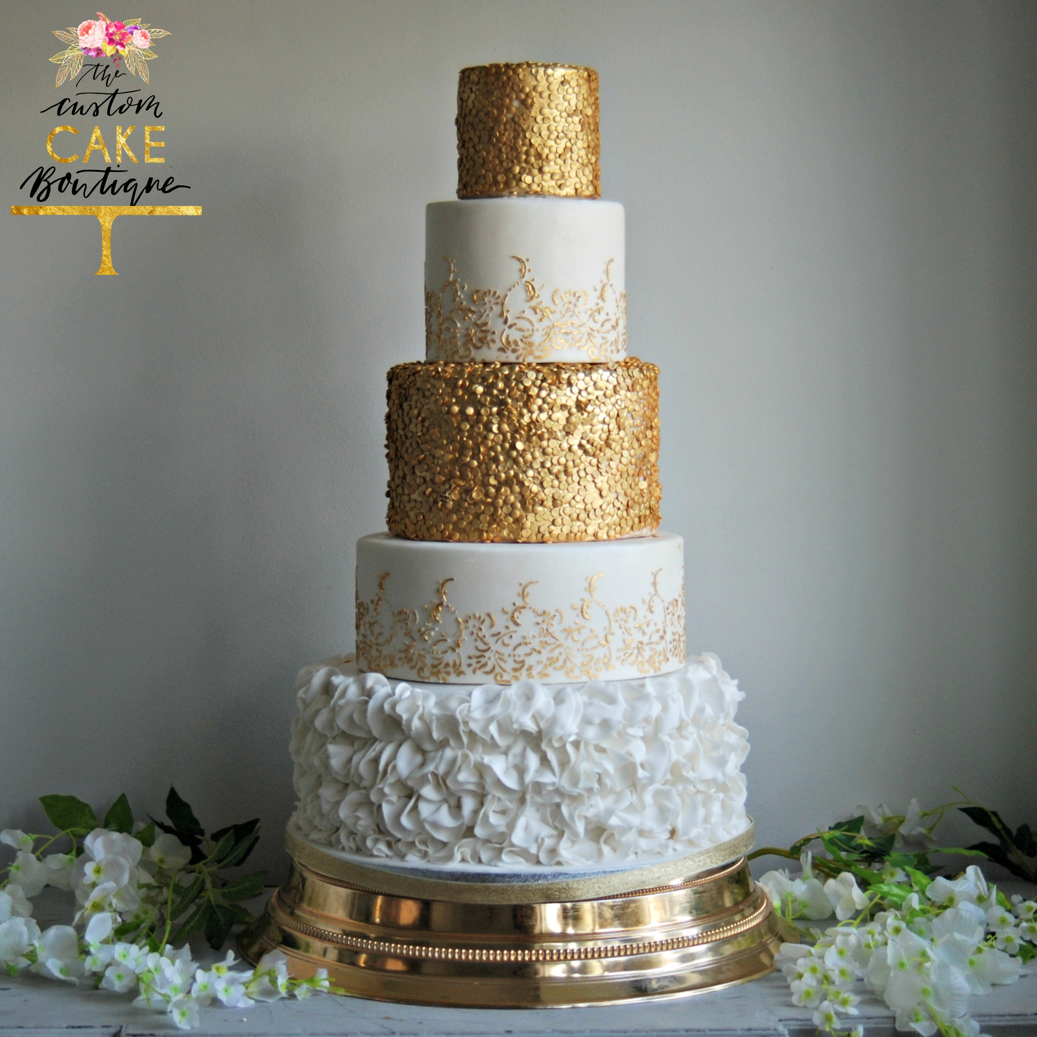 The Custom Cake Boutique | Wedding Cake Portfolio | London