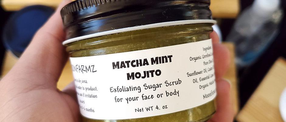 Matcha Mint Mojito - Scrub