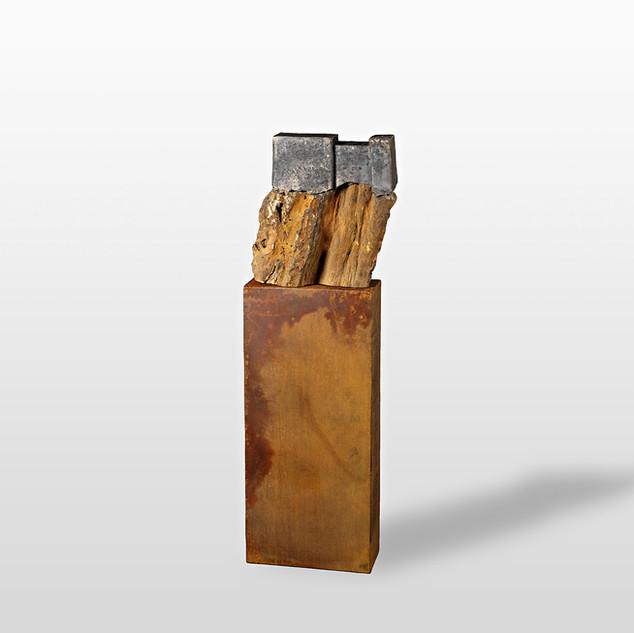 Pierre de fer, terre et metal
