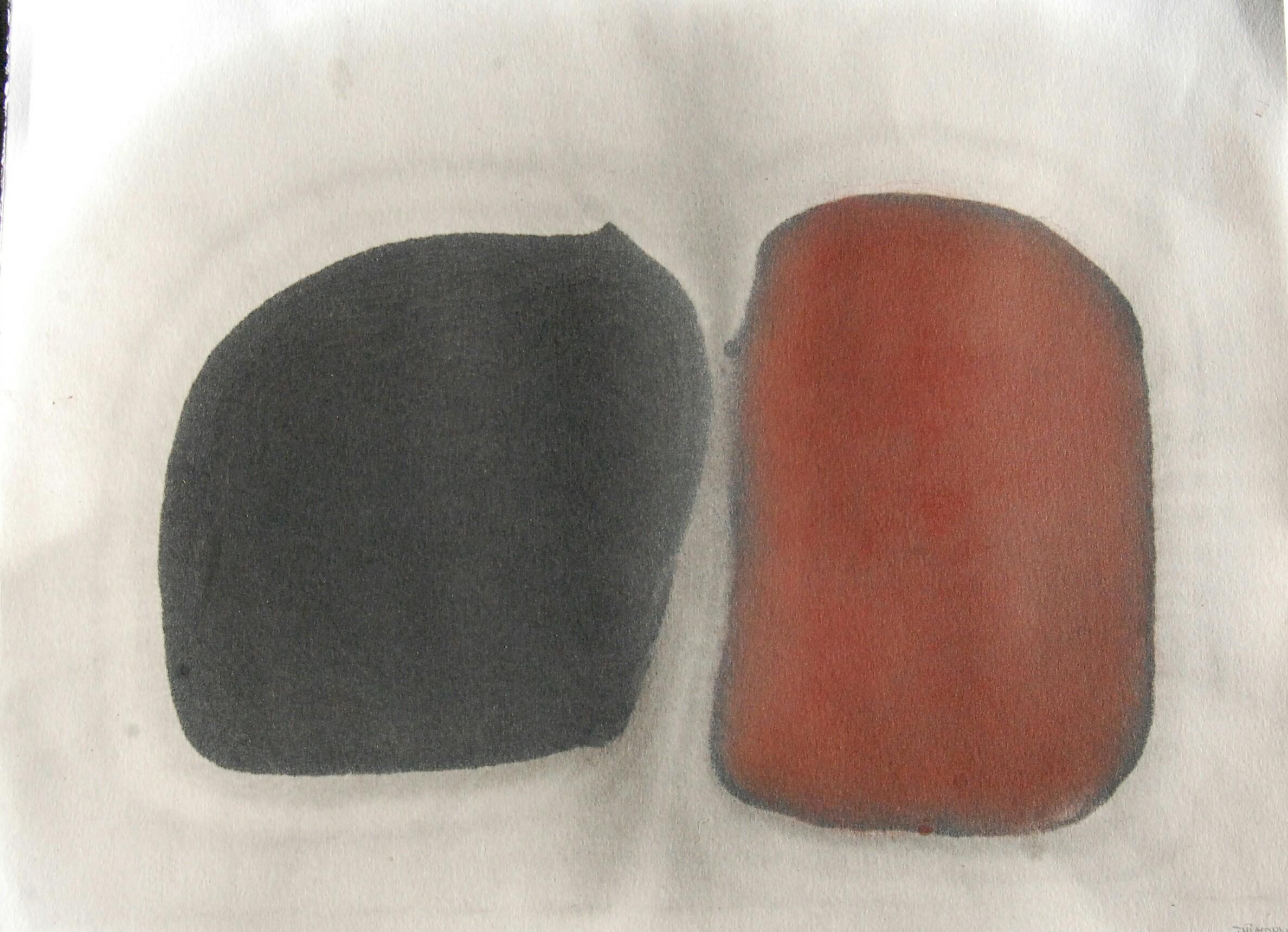 Huile et pigments 30x40 2015
