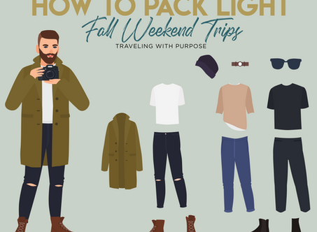 The Perfect Fall Packing List - Urbane Cheat Sheet