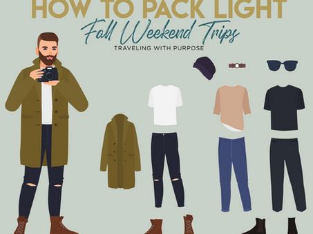 The Perfect Fall Packing List - Urbane Cheat Sheet