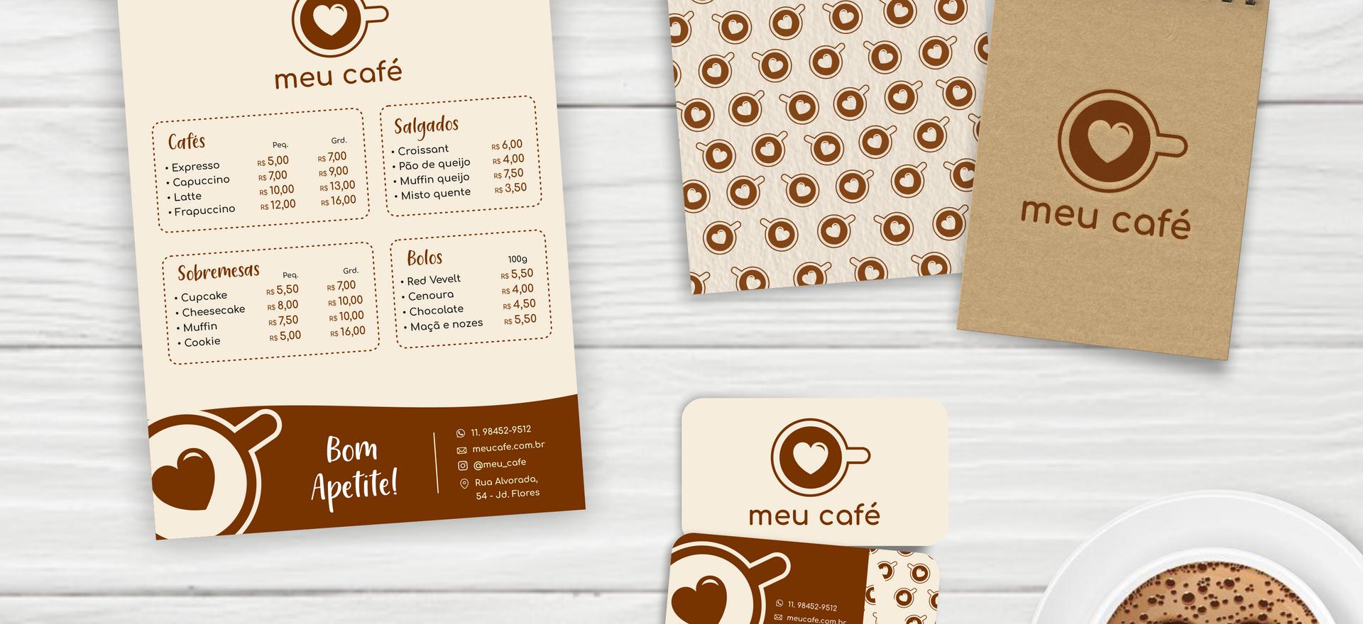 Kit cafeteria Meu Café