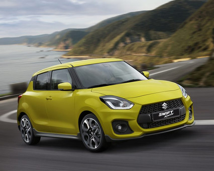 Avant droit Swift Sport