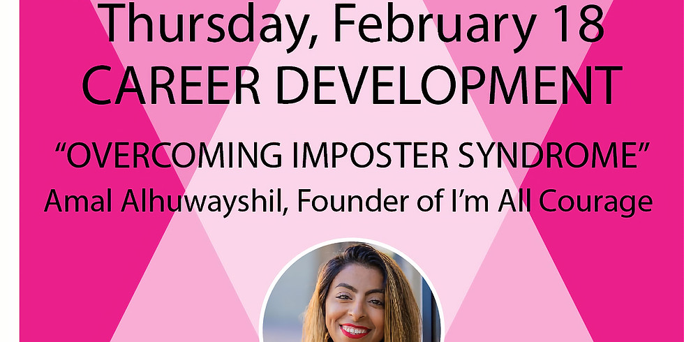 Career Development Series:  Overcoming Imposter Syndrome