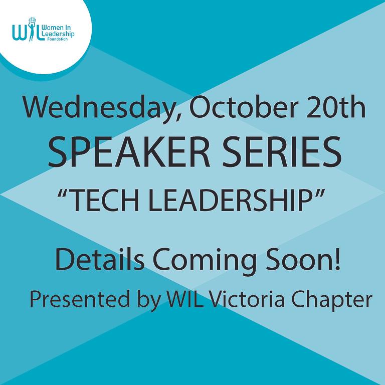 Speaker Series: Tech Leadership